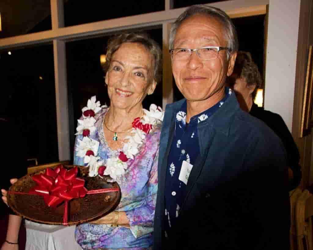 Louisa Cooper and Yukio Ozaki