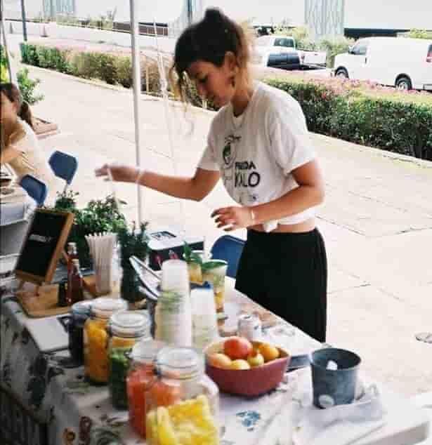 Danielle Sheemesh at the Hogan Marketplace