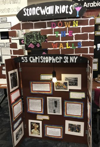 2019 History Day student displays
