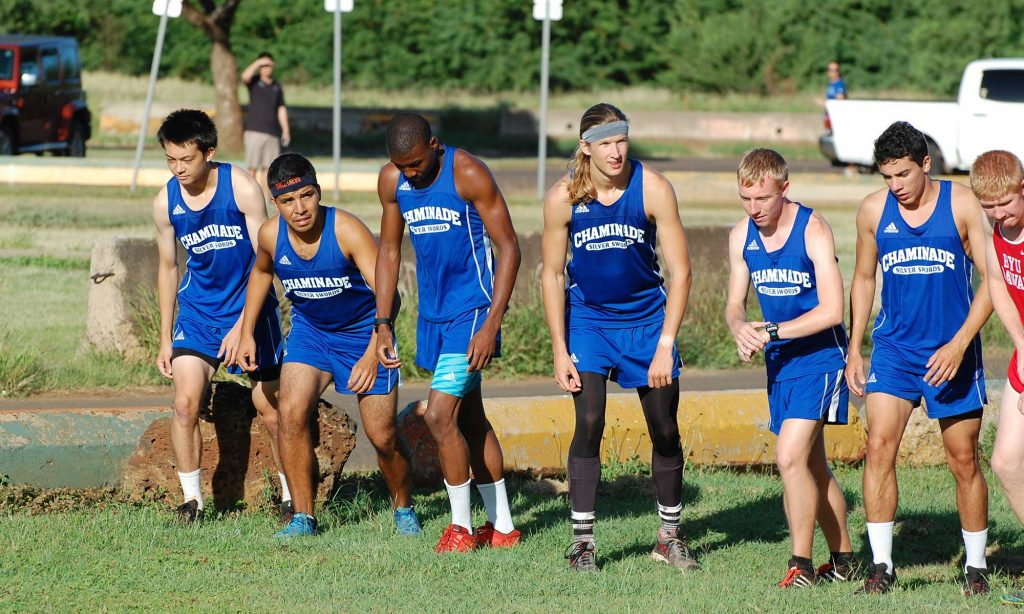 Chamiande men's cross country team