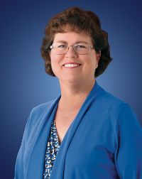 Dr. Rhoberta Haley, dean of the school of nursing and health professions.