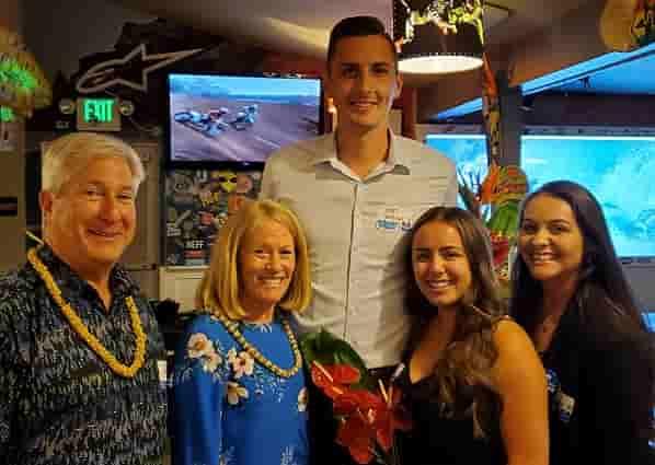 Huntington Beach gathering at Wahoo's