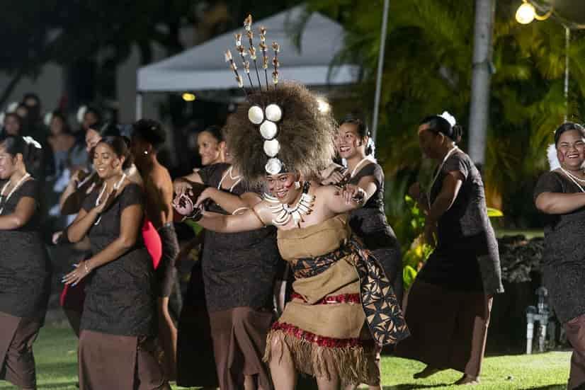 Pacific Island Review 2019, Samoan Club performance