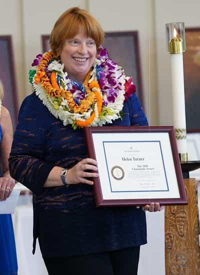Dr. Helen Turner Heritage Award winner