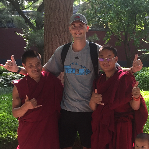 Matthew Southard '17 in China