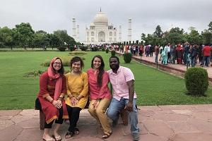 Students in Inda