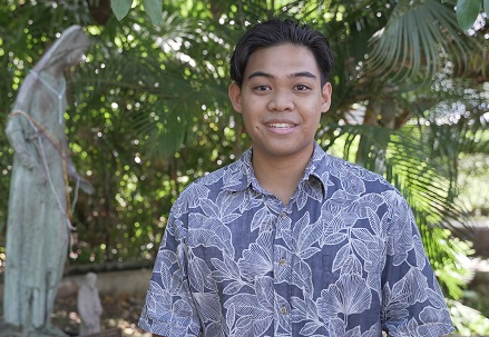 Andrew Ancheta '21, 2020–2021 class of NASPA Undergraduate Fellows Program (NUFP)