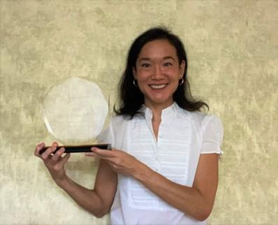 Candice Sakuda S-L award