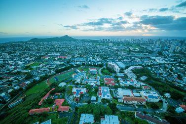 Aerial of Chaminade University