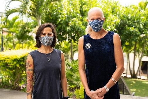 Luptia Ruiz-Jones and Gail Grabowsky